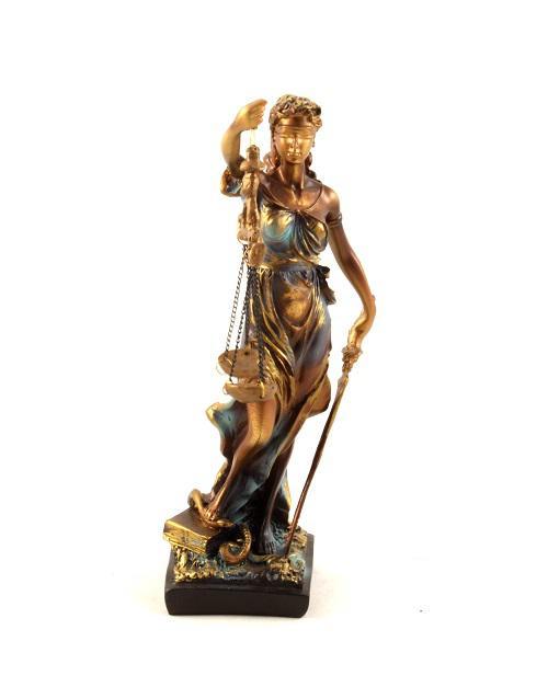 "Statueta ""Zeita Justitiei"" 30cm 2"