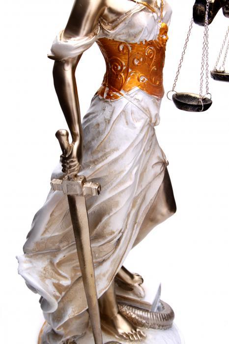 Zeita Justitiei Pearlescent 40 cm 4