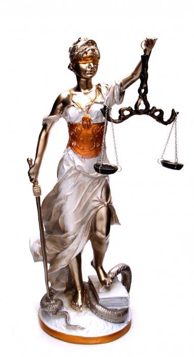 Zeita Justitiei Pearlescent 40 cm 0
