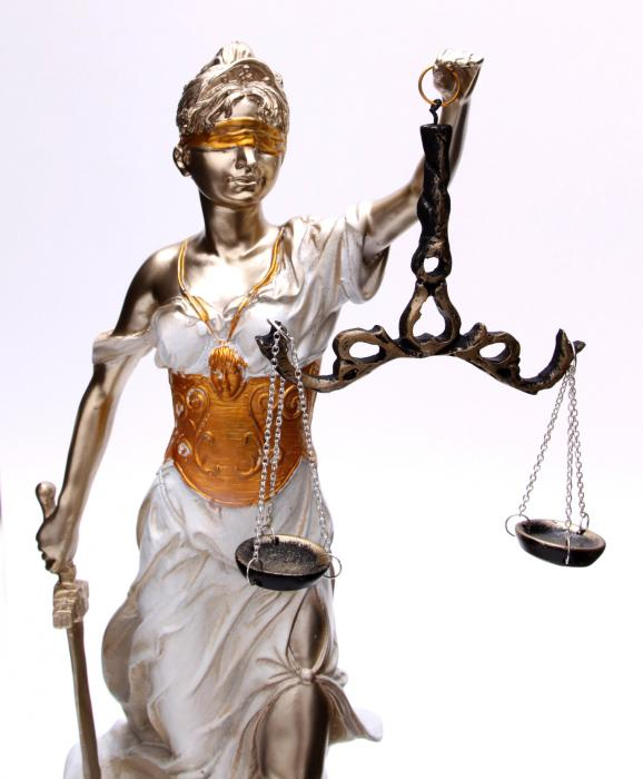 Zeita Justitiei Pearlescent 40 cm 1