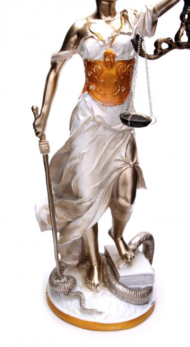 Zeita Justitiei Pearlescent 40 cm 3