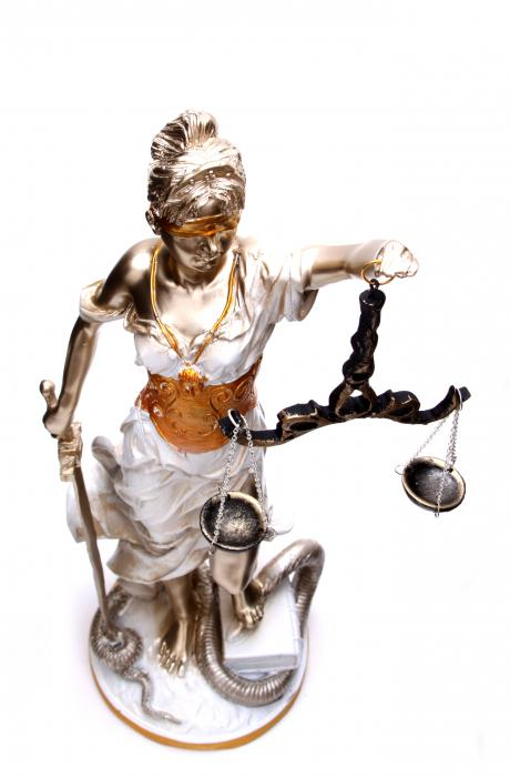 Zeita Justitiei Pearlescent 40 cm 2