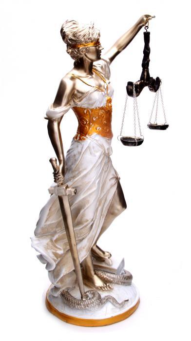 Zeita Justitiei Pearlescent 40 cm 5