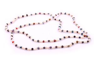 Colier Perle Borealy Super Long Fashion Multicolour0