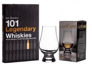 101 Legendary Whiskies & 6 pahare GlenCairn degustare whisky0