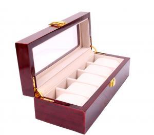 Set cutie 5 Ceasuri din Lemn Borealy Red Wood si Note pad Hugo Boss2