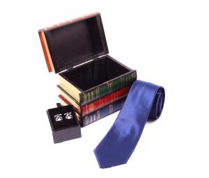 Christmas Gift Box: Cutie de Lemn Decorativa + Cravata & Butoni1