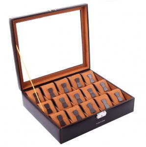 Set Cutie 15 Ceasuri Brown Redford by Friedrich si Note Pad Burgundy Hugo Boss - personalizabil1