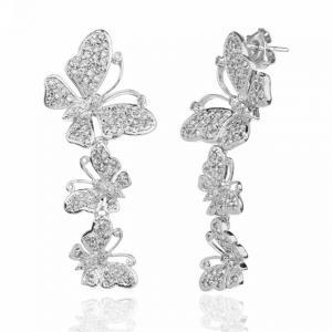 Cercei Fluturi Diamonds Borealy1