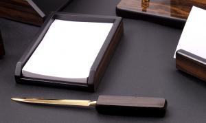 Set multifunctional pentru birou Antique Mahogany cu 8 accesorii2