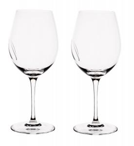 Set 2 pahare Tecnico glass wine by Colle Vilca Marcolin (Handmade crystal) - Made in Italy0