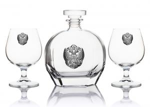 Set Cognac Eagle for Two by Valenti - Made in Italy3