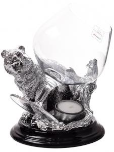 Incalzitor de Cognac Silver Bear by Chinelli - made in Italy