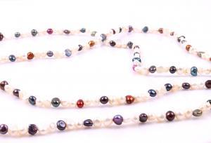 Colier Perle Borealy Super Long Fashion Multicolour1