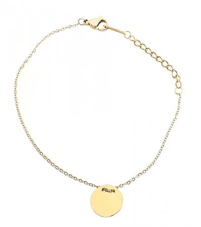 Set Colier si Bratara Delicate Gold by Borealy [3]
