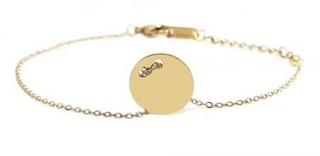 Set Colier si Bratara Delicate Gold by Borealy [4]