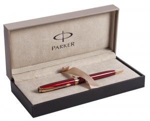 Set Business Pix Parker Ruby Pen Aur 23kt si Note Pad Grey Hugo Boss1