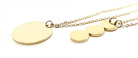 Set Colier si Bratara Delicate Gold by Borealy [2]