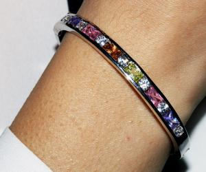 Brăţară Borealy Tennis Colour Bangle1