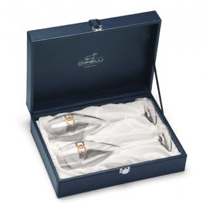 Infiniti Glasses for Champagne by Chinelli - Made in Italy0