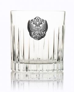 Whisky Crystal & Argint Set for Two by Valenti - Made in Italy3