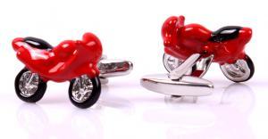 Set Butoni Borealy Red Motorcycle si Note pad Black Hugo Boss2