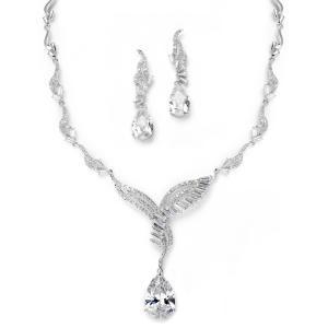 Angelic Luxury Diamonds Set Bijuterii Mireasa0