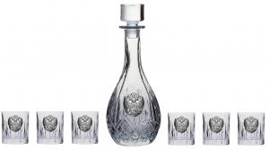 Vodka Eagle for Six by Valenti - Made in Italy & Smirnoff Gold 23K5