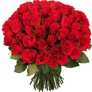 Buchet 49 trandafiri cu vaza3