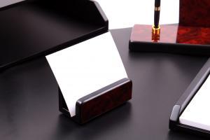 Business Set multifunctional pentru birou Dark Burgundy cu 8 accesorii3
