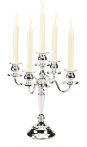 Candlestick Silver by Chinelli - Made in Italy