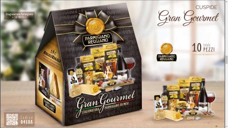 Cos de Craciun Italian Gourmet - 10 piese, made in Italy1