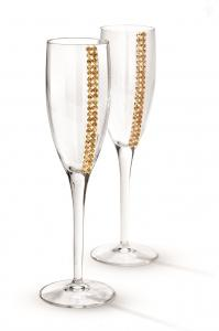 Regina Champagne Glasses by Chinelli