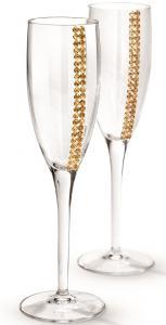 Regina Champagne Glasses by Chinelli1