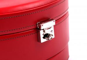 Cutie Bijuterii Intense Red piele naturala By Friedrich – Made in Germany - personalizabil4