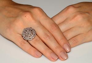 Inel Borealy Simulated Diamonds Paris Lights Marimea 62