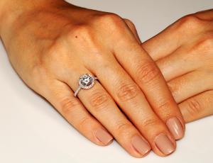 Inel Borealy Argint 925 Logodnă Glamour Marimea 61