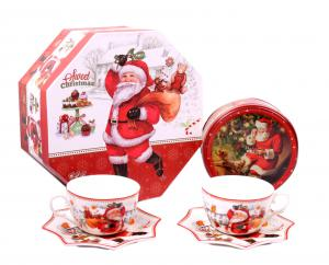 Christmas Coffee & Cookies for Santa + Decoratiuni de Craciun din Ceramica1
