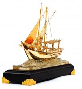 Machetă Golden Ship 24 karate2