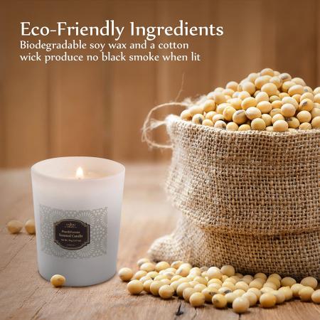 Luxury Cadou ANJOU Set 4 lumanari naturale parfumate5