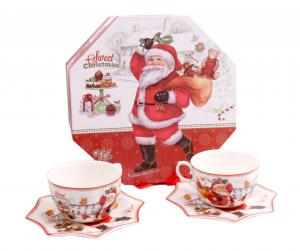 Christmas Coffee & Cookies for Santa + Decoratiuni de Craciun din Ceramica2
