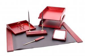 Set pentru birou Wood Art cu 6 accesorii0
