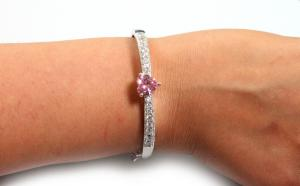 Brăţară Borealy Bangle Pink Love1