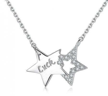 Colier Borealy Argint 925 Glow Dark Star [0]