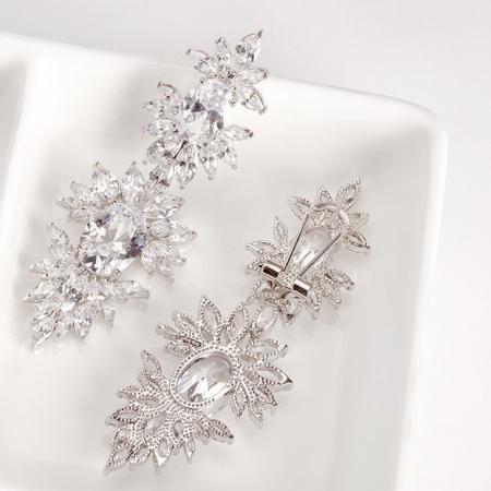 Cercei Mireasa Opulence Crystal2