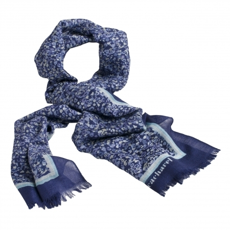 Set Esarfa Giverny Blue Cacharel & Cercei Borealy One Diamond Square Princess2