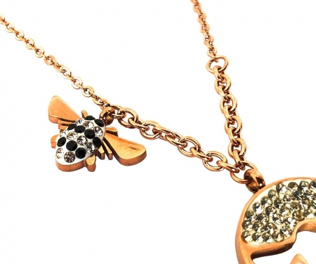 Colier Bee Sparkle1