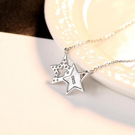 Colier Borealy Argint 925 Glow Dark Star [2]