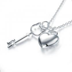 Colier Borealy Argint 925 Kitty Heart1