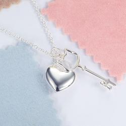 Colier Borealy Argint 925 Kitty Heart3